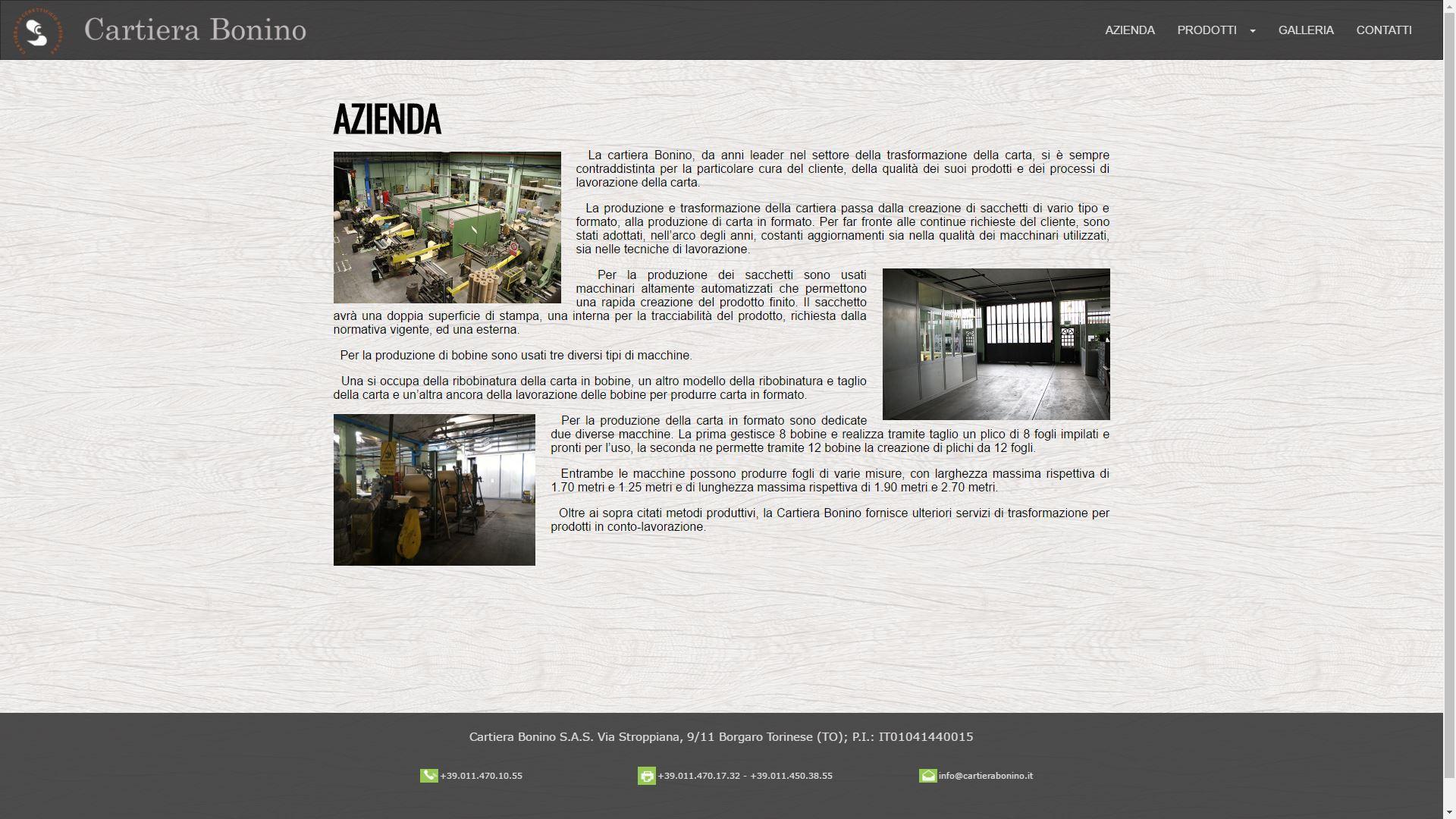 Mk Computers - Assistenza PC e Siti Web Caselle Torinese - Cartiera Bonino storia dell`azienda