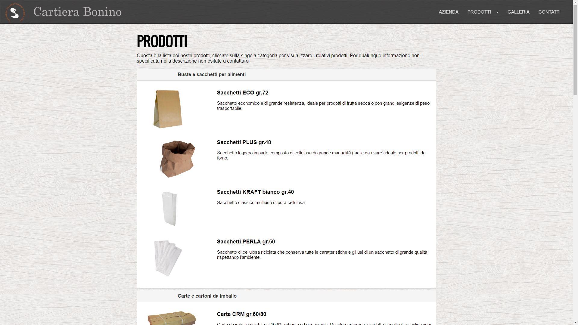 Mk Computers - Assistenza PC e Siti Web Caselle Torinese - Cartiera Bonino Prodotti