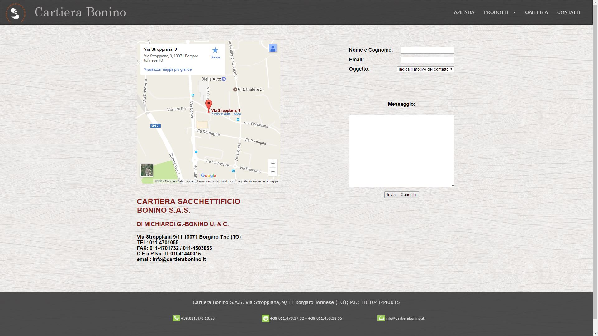 Mk Computers - Assistenza PC e Siti Web Caselle Torinese - Cartiera Bonino Contatti