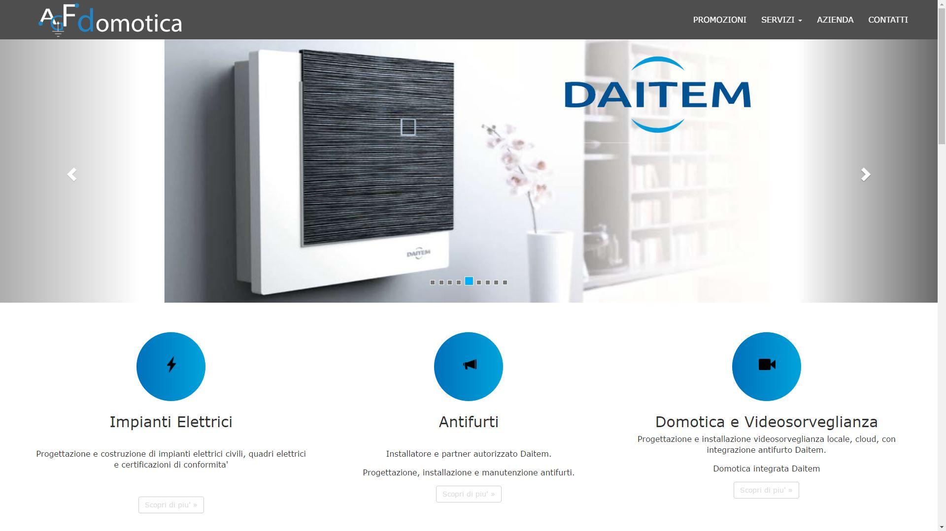 Mk Computers - Assistenza PC e Siti Web Caselle Torinese - AGF Domotica Carosello Home Page