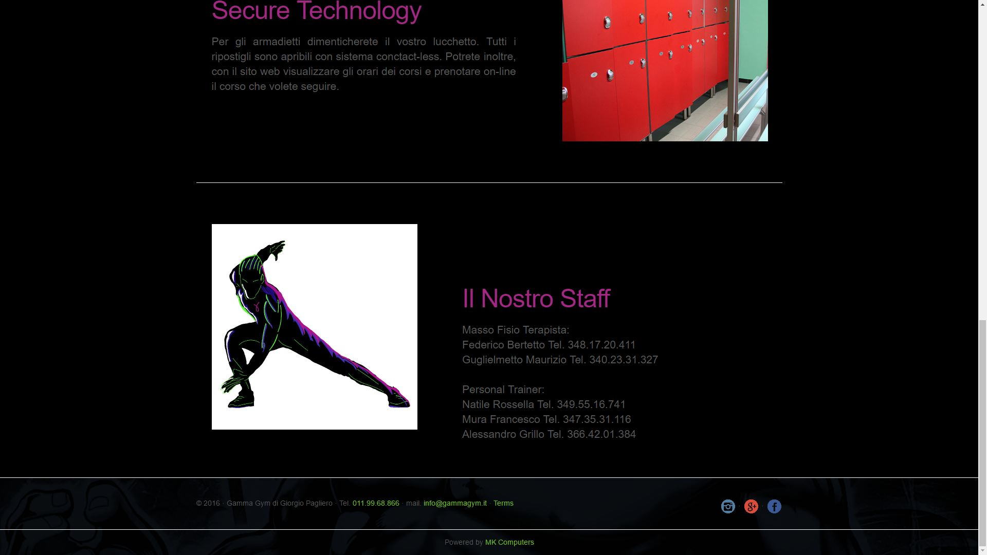 Mk Computers - Assistenza PC e Siti Web Caselle Torinese - Gamma Gym Chi Siamo