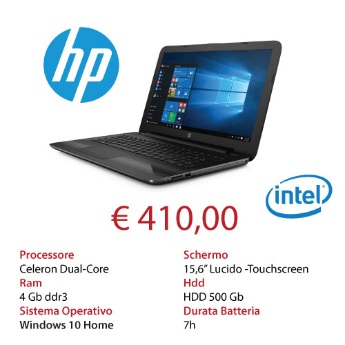 Mk Computers - Assistenza PC e Siti Web Caselle Torinese - Offerta Notebook HP
